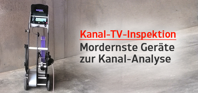 kanal tv untersuchung inspektion rohrreinigungsservice. Black Bedroom Furniture Sets. Home Design Ideas